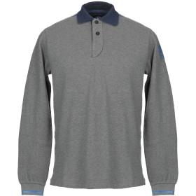 《期間限定セール開催中!》NORTH SAILS メンズ ポロシャツ グレー S コットン 100%