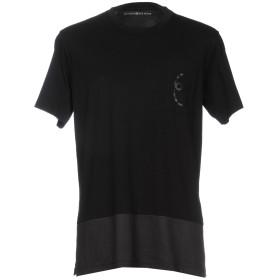 《期間限定 セール開催中》SATURNINO EYE WEAR メンズ T シャツ ブラック XS コットン 100%