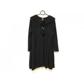 【中古】 ダブルスタンダードクロージング DOUBLE STANDARD CLOTHING ワンピース レディース 黒