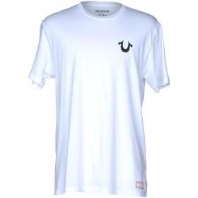 《期間限定セール開催中!》TRUE RELIGION メンズ T シャツ ホワイト L コットン 100%