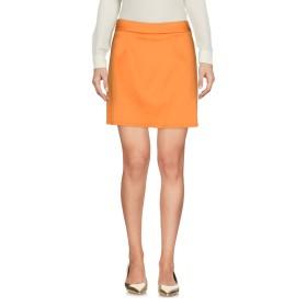 《期間限定セール開催中!》MOSCHINO CHEAP AND CHIC レディース ミニスカート オレンジ 40 コットン 96% / 指定外繊維 4%