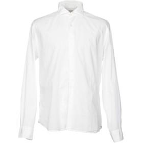 《セール開催中》XACUS メンズ シャツ ホワイト 38 コットン 100%