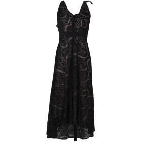 《期間限定セール開催中!》WE ARE KINDRED レディース 7分丈ワンピース・ドレス ブラック 8 ポリエステル 100%