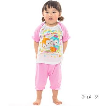 アンパンマン メッシュ半袖パジャマ(ピンク×90cm)【クリアランス】