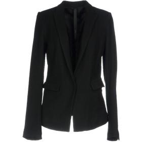 《期間限定セール開催中!》POME BOHMIEN レディース テーラードジャケット ブラック 40 ウール 100%