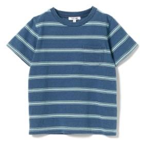 B:MING by BEAMS / インディゴミックス ポケットTシャツ 19SS キッズ Tシャツ NAVY×GRN 140