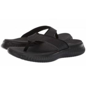 SKECHERS スケッチャーズ メンズ 男性用 シューズ 靴 サンダル Elite Flex Thong Black/Black【送料無料】