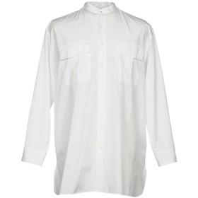 《セール開催中》HIGH by CLAIRE CAMPBELL メンズ シャツ ホワイト 46 コットン 100%