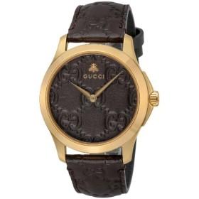 GUCCI グッチ 腕時計 メンズ Gタイムレス ブラウン YA1264035