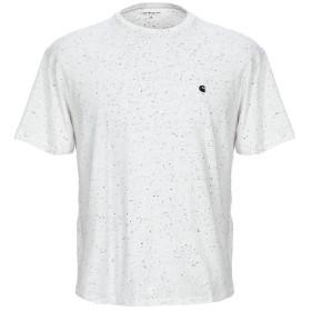 《9/20まで! 限定セール開催中》CARHARTT メンズ T シャツ ライトグレー S 100% コットン