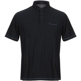 《期間限定 セール開催中》ROBERTO COLLINA メンズ ポロシャツ ブラック 48 100% コットン