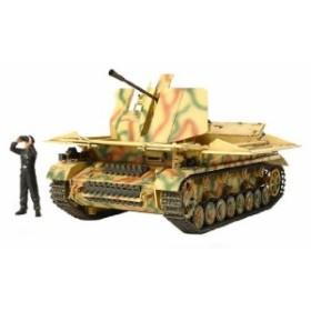 新品 タミヤ 1/48 ミリタリーミニチュアシリーズ No.73 ドイツ陸軍 IV号対空自走砲 メーベルワーゲン 3.7cm Flak43 搭載型 プ