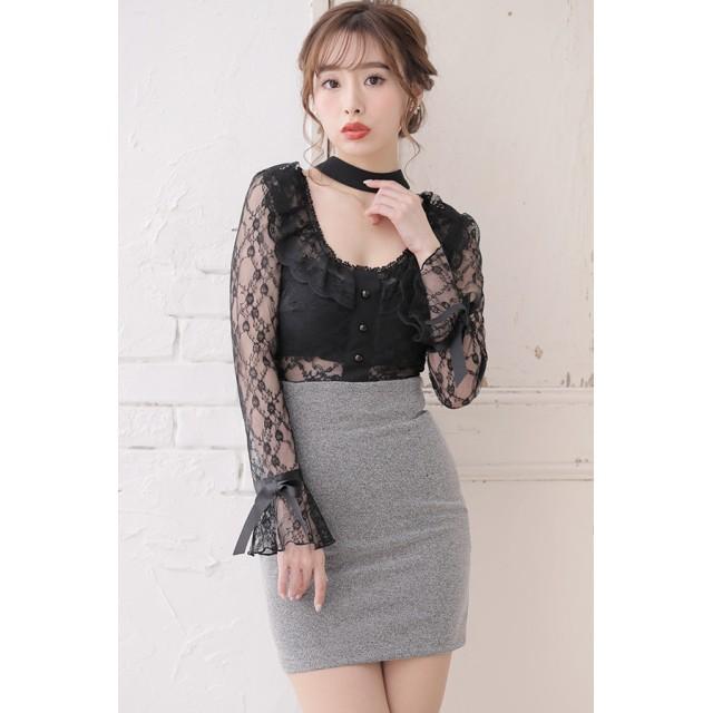 c053a5c1e21ba ドレス - Tearly キャバ ドレス ミニ ロング フレア キャバワンピ キャバドレス 大きいサイズ ワンピースドレス