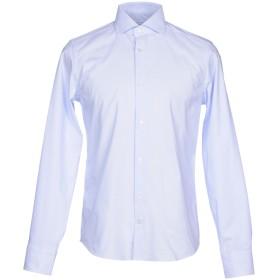 《セール開催中》ALESSANDRO BONI メンズ シャツ スカイブルー 40 コットン 100%