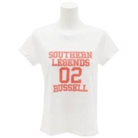 ラッセル(RUSSELL) 【多少の汚れ等訳あり大奉仕】LEGENDS 02 Tシャツ RBL17S1007 WHT (Lady's)