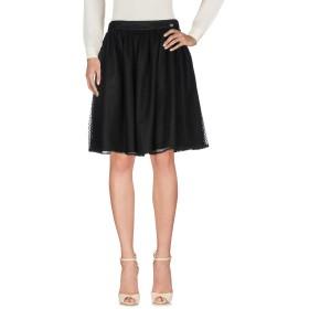 《セール開催中》BLUGIRL BLUMARINE レディース ひざ丈スカート ブラック 46 ナイロン 100%