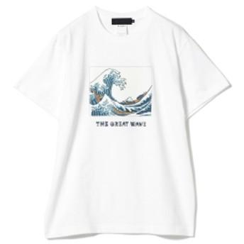 NAIJEL GRAPH / Print Tee メンズ Tシャツ THE GREAT WAVE XL