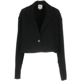 《期間限定セール開催中!》EDIT レディース テーラードジャケット ブラック XS ポリエステル 95% / ポリウレタン 5%