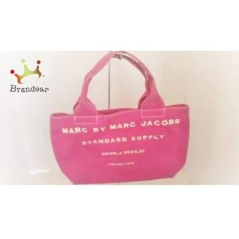 マークバイマークジェイコブス MARC BY MARC JACOBS ハンドバッグ - ピンク キャンバス スペシャル特価 20190819