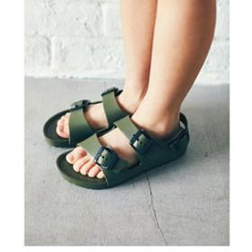 【green label relaxing:シューズ】BIRKENSTOCK(ビルケンシュトック)MILANO EVA 16cm-22cm