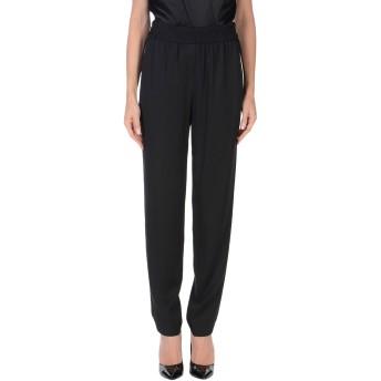 《セール開催中》DKNY レディース パンツ ブラック S レーヨン 90% / ウール 7% / ポリウレタン 3% / シルク
