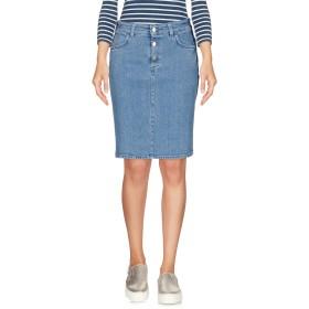 《期間限定 セール開催中》CLOSED レディース デニムスカート ブルー 24 コットン 98% / ポリウレタン 2%