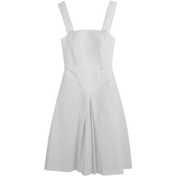 《セール開催中》BOULE DE NEIGE レディース ミニワンピース&ドレス ホワイト 44 96% コットン 4% ポリウレタン