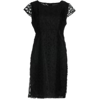 《セール開催中》ANONYME DESIGNERS レディース ミニワンピース&ドレス ブラック S ポリエステル 100%