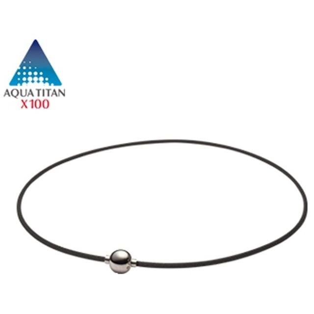 PHITEN ファイテン RAKUWA ネックX100 ミラーボール 40㎝ TG640151