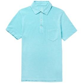 《期間限定セール開催中!》J.CREW メンズ ポロシャツ スカイブルー XS コットン 100%
