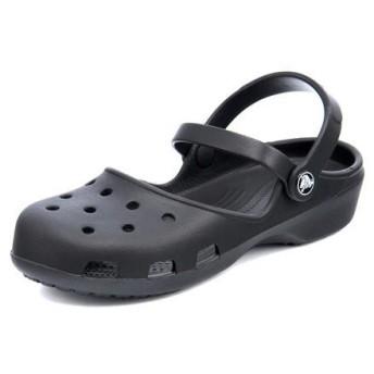 クロックス crocs KARIN CLOG W レディースサンダル カリンクロッグウィメン 202494 001 ブラック