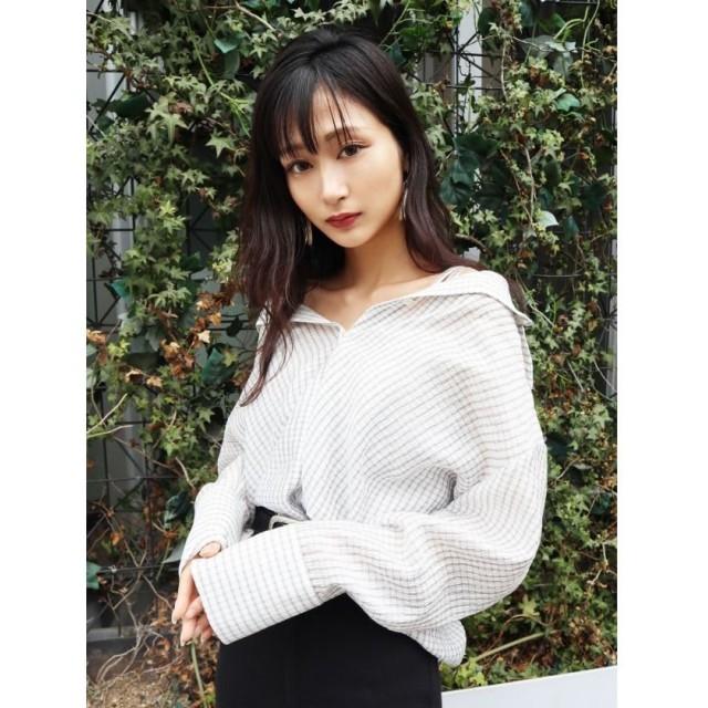EMODA エモダ 2WAYシャツ&ビスチェセットアップ