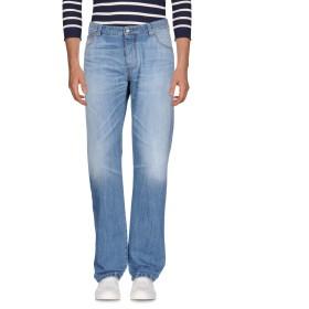 《期間限定 セール開催中》ERMANNO SCERVINO メンズ ジーンズ ブルー 56 コットン 100%
