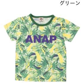 Tシャツ - ANAP KIDS リーフ総柄Tシャツ