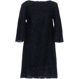 《セール開催中》LIVIANA CONTI レディース ミニワンピース&ドレス ブラック 42 ポリエステル 50% / レーヨン 25% / コットン 15% / ナイロン 10%