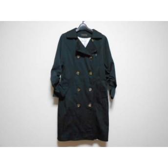 【中古】 マダムヒロコ MADAME HIROKO コート サイズ11 M レディース 黒 冬物