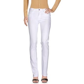 《セール開催中》BLUGIRL BLUMARINE レディース パンツ ホワイト 25 97% コットン 3% ポリウレタン