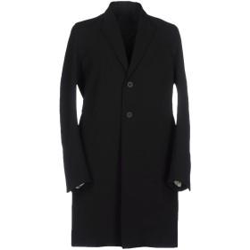 《セール開催中》RICK OWENS メンズ コート ブラック 46 ポリエステル 97% / ポリウレタン 3%