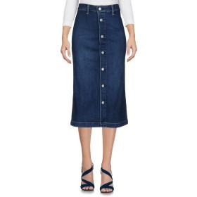 《期間限定 セール開催中》ALEXACHUNG for AG Jeans レディース デニムスカート ブルー 24 コットン 98% / ポリウレタン 2%