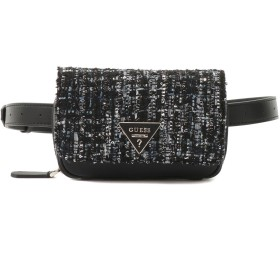 ゲス GUESS CALIFORNIA DREAM CROSSBODY BELBAG (BLACK MULTI)
