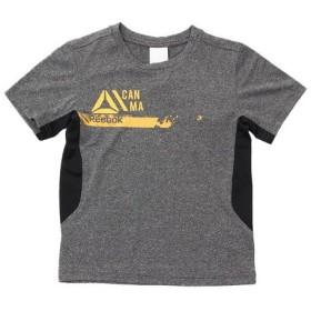 リーボック(REEBOK) 【多少の汚れ等訳あり大奉仕】ボーイズ WOR PES Tシャツ MLI35-BK4426 (Jr)