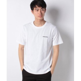 【10%OFF】 ウィゴー WEGO/コンバース別注ワンポイント刺繍Tシャツ メンズ ホワイト L 【WEGO】 【タイムセール開催中】