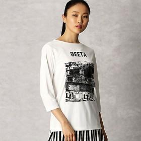 <β/ベータ> Tシャツ(7777TL11) 01【三越・伊勢丹/公式】