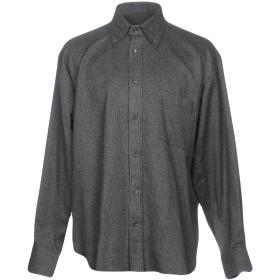 《期間限定 セール開催中》GIANMARCO BONAGA メンズ シャツ グレー L コットン 100%