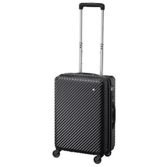 小型スーツケース 容量33L 高さ48cm ジッパー キャリーケース ハントマイン