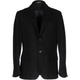 《期間限定セール開催中!》MANUEL RITZPIPO メンズ テーラードジャケット ブラック 50 ウール 70% / ポリエステル 30%
