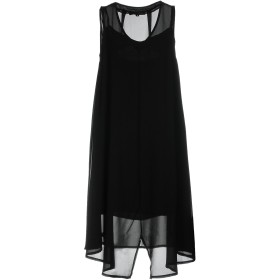 《期間限定セール開催中!》CAFNOIR レディース ミニワンピース&ドレス ブラック L 95% ポリエステル 5% ポリウレタン