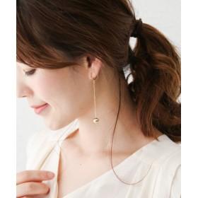 ROSSO(ロッソ) アクセサリー イヤリング Favorible Ball Chain Earrings【送料無料】