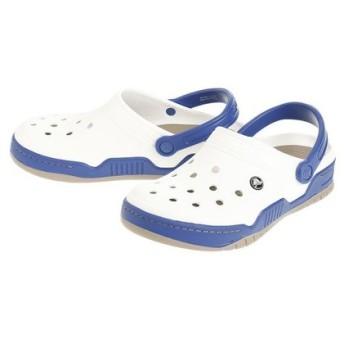 クロックス(crocs) フロントコートクロッグ WhiClBl #14300-19G (Men's、Lady's)