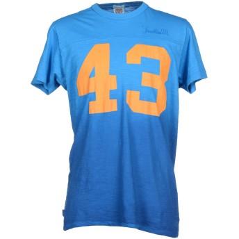 《9/20まで! 限定セール開催中》FRANKLIN & MARSHALL メンズ T シャツ アジュールブルー XS コットン 100%